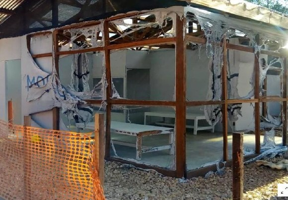 Attackers set fire to an Ebola treatment center in the east Congolese town of Katwa