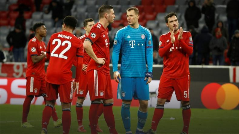 Bayern plan to ditch ageing stars in wake of European exit
