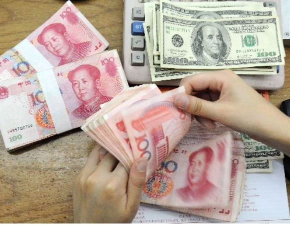 Chinese Yuan is being pushed as a major currency against the dollar