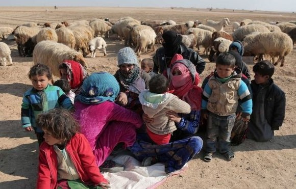Conflict has forced more than one million people to flee their homes (File photo)