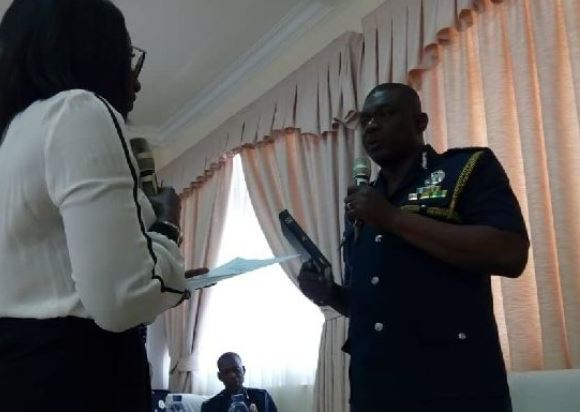 IGP takes his oath
