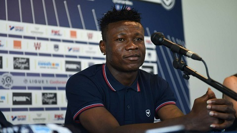 Kalu joined Bordeaux from Belgian club KAA Gent in August 2018