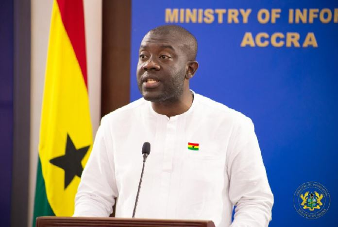 Minister of Information, Kojo Oppong-Nkrumah, Ghana Political News Report Articles