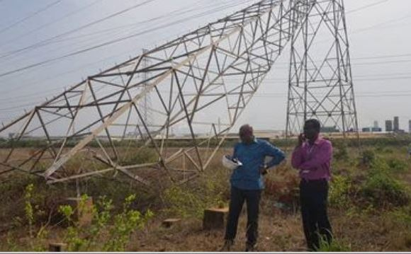 Power grid collapses