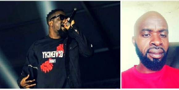 Rapper Sarkodie (L) and Kakra Kontonkyi (R)