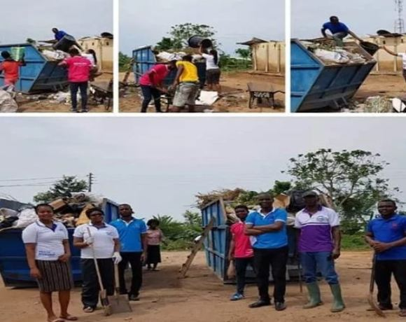 Sanitation Clean up exercise