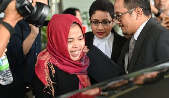 Siti Aisyah was able to leave the court immediately
