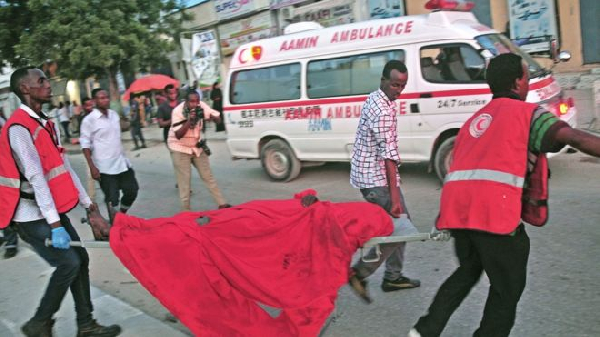 Aamin ambulances often rush to the scene of an attack to help the injured