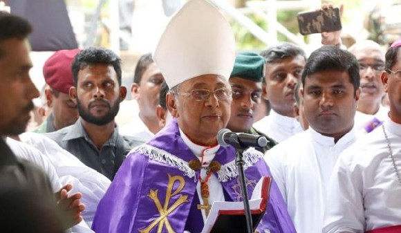 Cardinal Malcolm Ranjith, Archbishop of Colombo, fears further attacks are possible