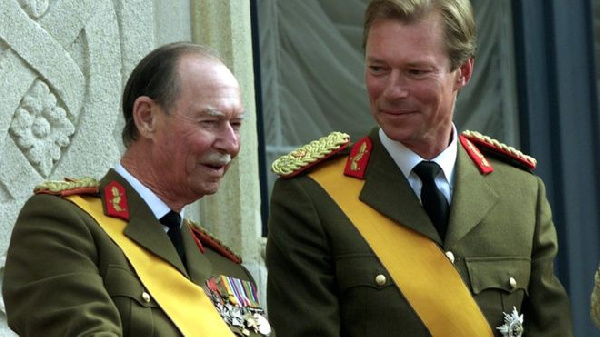 Grand Duke Jean abdicated in favour of his son Henri in 2000