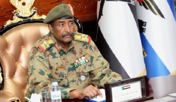 Lt-Gen Abdel Fattah Abdelrahman Burhan said he would be willing to give up power in days