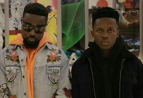 Sarkodie and StrongmanSarkodie and Strongman