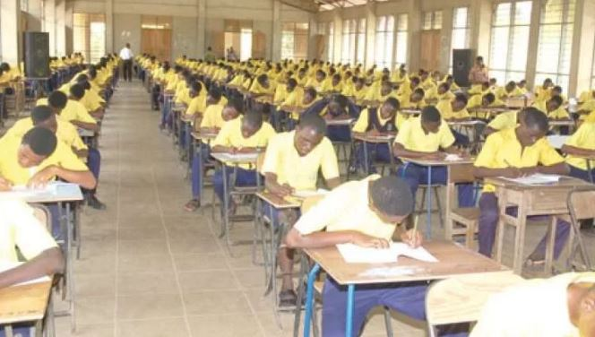 WASSCE Candidates write exams