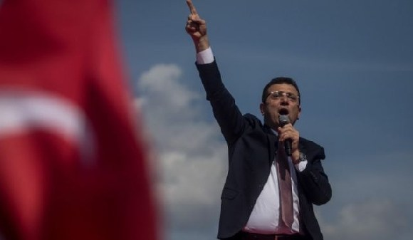 Ekrem Imamoglu was officially confirmed as the new mayor of Istanbul in April