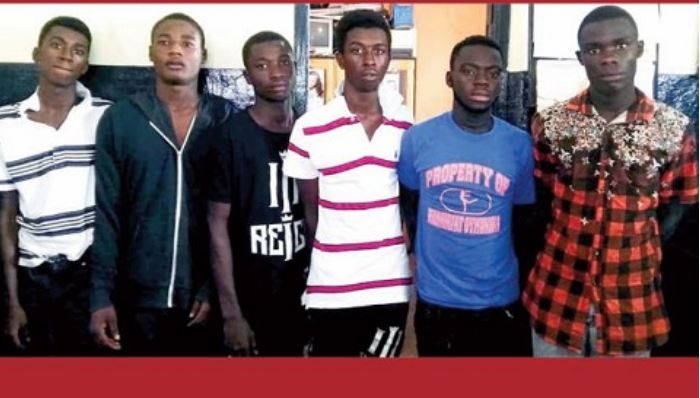 George Somuah Bosompem was brutally beaten to death by these six suspects