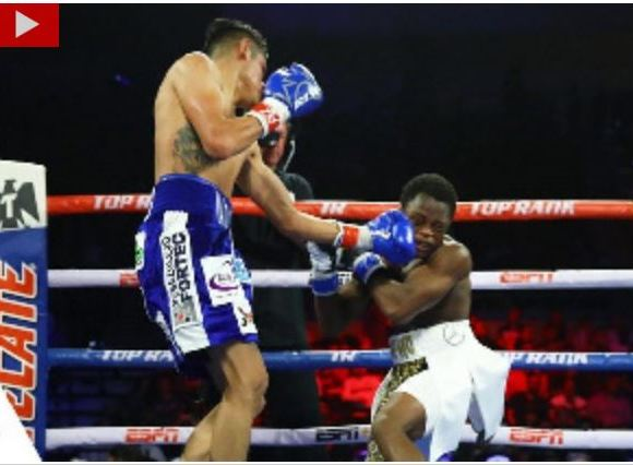 Isaac Dogboe failed to take back his title from Emmanuel Navarrette