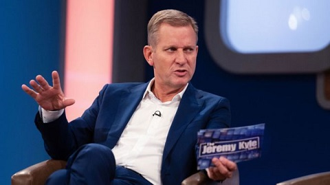 Jeremy Kyle at MediaCityUK studio in Salford, where his show was filmed