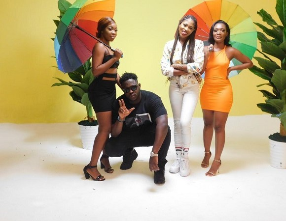 Medikal and Eazzy with others