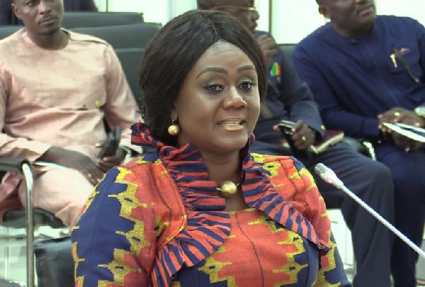 Minister of Tourism, Culture and Creative Arts Mrs Barbara Oteng-Gyasi