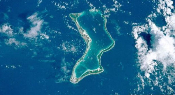 One of the Chagos Islands - Diego Garcia - is home to a US military base