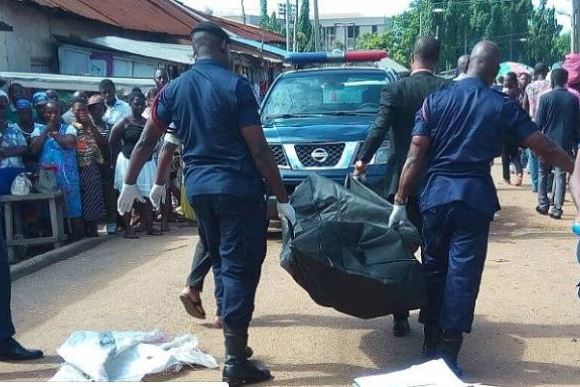 Police convey bodies to morgue