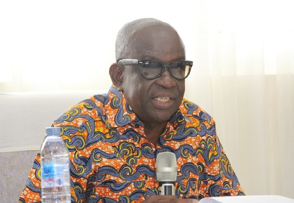 Albert Kan Dapaah, National Security Minister