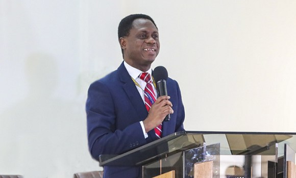 Apostle Eric Nyamekye, Chairman of the Church of Pentecost