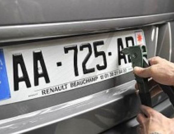 Foreign number plate