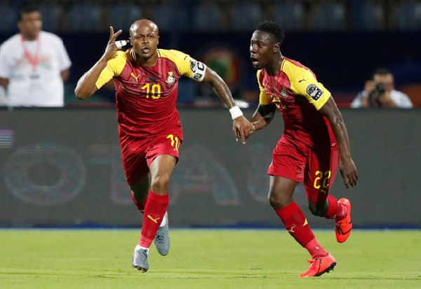 Ghana and Benin settled for a 2-2 draw