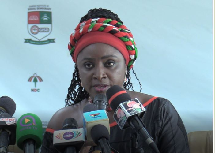 National Women's Organizer of the NDC, Dr Hannah Bissiw