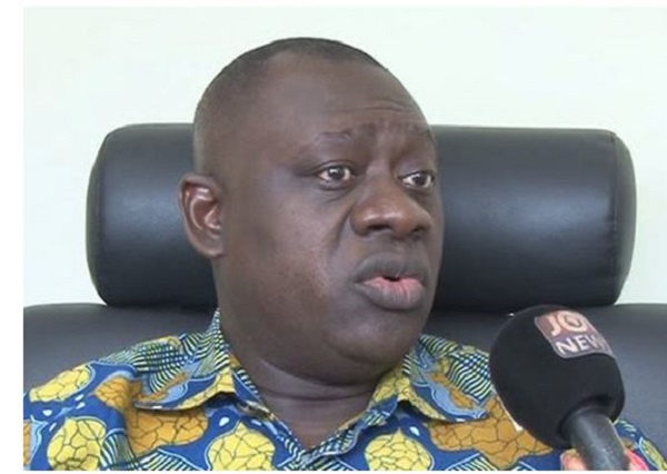 Osei Bonsu Amoah, Deputy Minister for Local Government and Rural Development