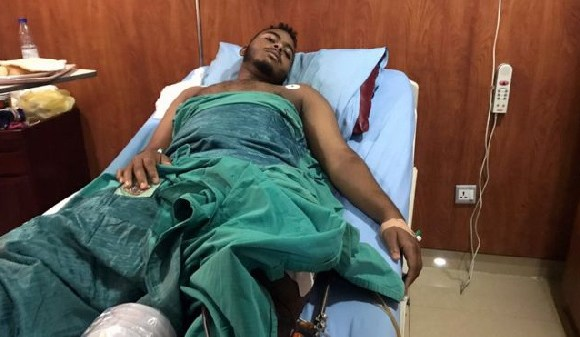 People injured in Khartoum's crackdown are recovering in hospital