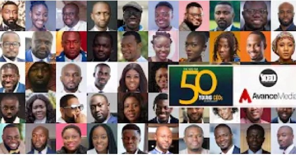 Pictures of the 2019 top 50 Young CEOs in Ghana