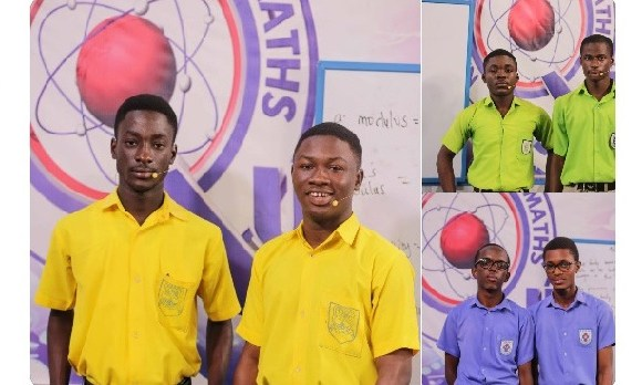 Pope Johns Senior High and Seminary, St Johns (Top R) and PRESEC