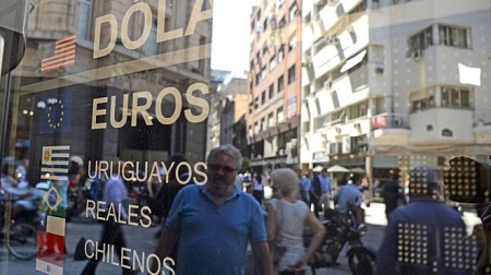 Power cuts were reported across the entire capital, Buenos Aires