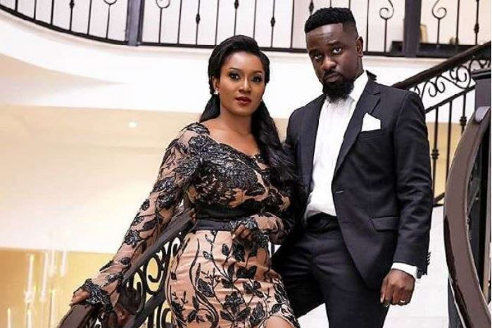 Sarkodie and Wife