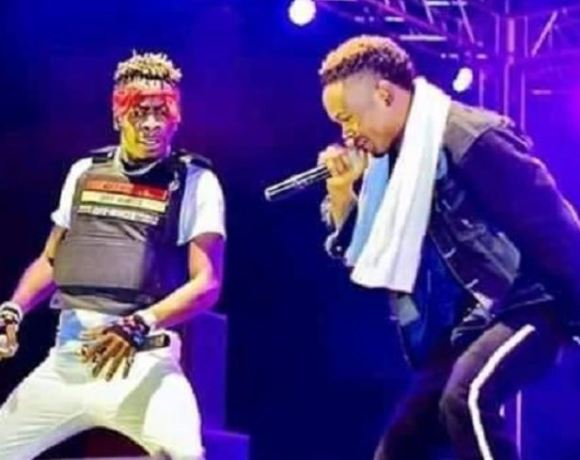 Shatta Wale and Macacio