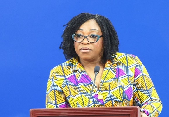 Shirley Ayokor Botchwey is Minister for Foreign Affairs