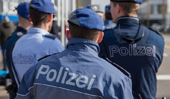 Some police officials in Switzerland