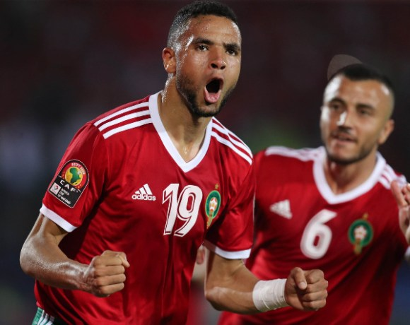 Youssef En-Nesyri scored the only goal of the game