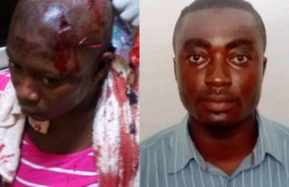 man stabs wife