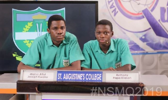 Contestants of St. Augustine College