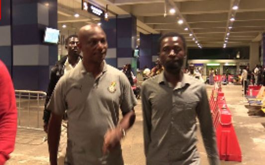 Kwesi Appiah and team return from Egypt