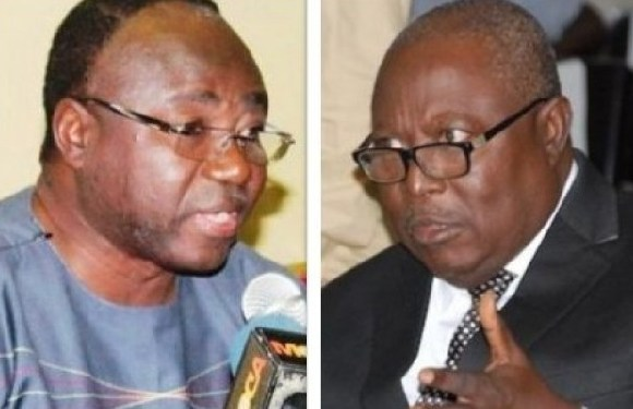 Adjenim Boateng Adjei, Suspended CEO of PPA and Martin Amidu, Special Prosecutor
