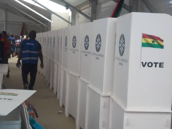 All set for voting today, Ghana Political News Report Articles