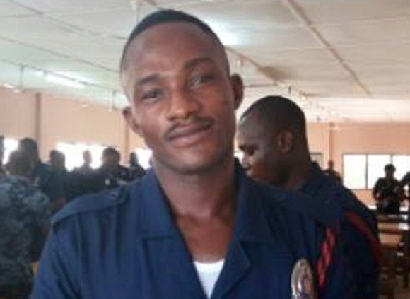 The late Lance Corporal Alhassan Asare