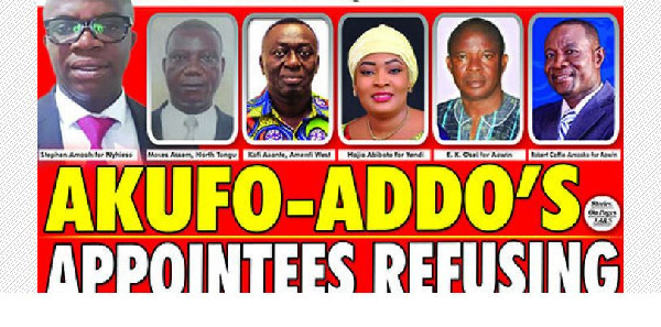 Akufo-Addo appointees