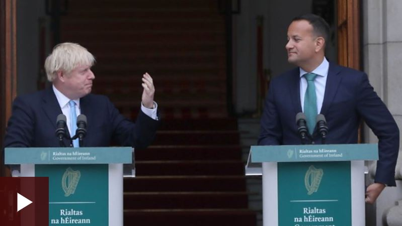 Boris Johnson told Leo Varadkar a no-deal Brexit would be a failure of statecraft