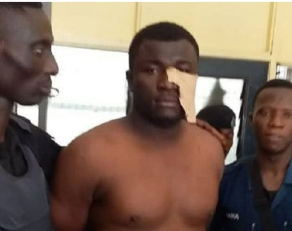 Eric Kofi Duah, lead suspect in the murder of two Police Officers