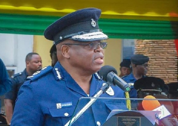 Inspector General of Police, James Oppong-Boanuh